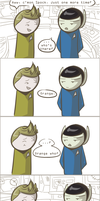 101 Ways to Make a Vulcan Laugh: 012 by TheVeggieSalad