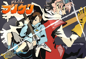 FLCL by skullcaps