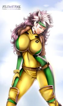 Rogue Marvel by Flowerxl
