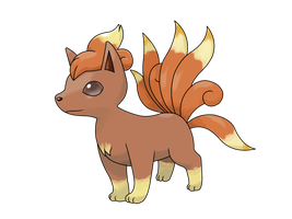 Vulpix - interrupted evo by icaro382