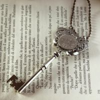 skeleton key pendant by dear-dead-ofelia