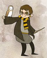 Hufflepuff don't care by VeniceLatte