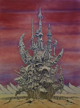 Skeksis Castle THE DARK CRYSTAL by Skulpturen