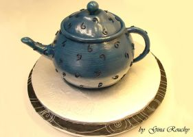 Teapot Cake by ginas-cakes