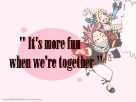 Fun with you (1) by Lucyluckyheartfilia