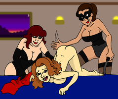 Wife's Spanking commission by PariahExileWrath