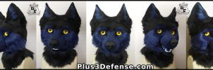 Midnight Wolf Fullsuit by Plus3Defense