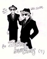 The Blues Brothers by Rucci