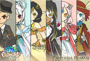 [Elsword] Fantasia Roman  - sneak peak - by ClairSH