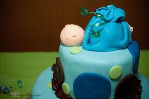 Baby on the cake by QueenSheba24