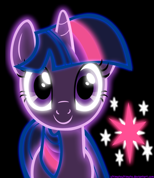 Neon Twilight Sparkle by ZantyARZ
