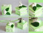 clay mint cake by cihutka123