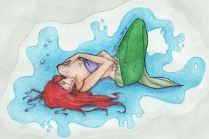 Little Mermaid Pin-up by sexy-kat