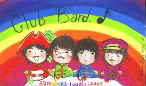 The Beatles by helplessdancer
