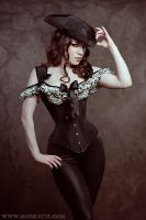 Miss Katie Corsetry by ladymorgana