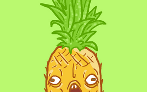 BIG PINEAPPLE!!! by SpaceWaffleDelivery