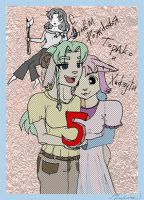 To and Hi 5 years - first ver by sjupiter-belcha