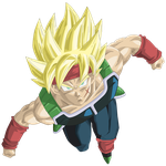 Bardock Super Saiyan Render/Extraction PNG by TattyDesigns