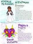 BD Character Bios: Terminus and Majora by MiniJen