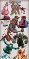 31 day Least fave Pokeddex challenge by Mehkas