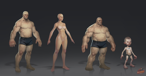 Base models by Gimaldinov