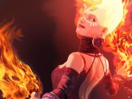 Lina Inverse by gyroy