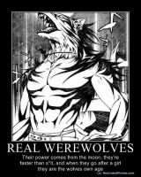 Real Werewolves by MadHowler