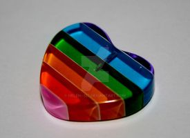Rainbow Heart by Helen--127