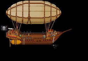 Jaice Airship by Gallyfrey