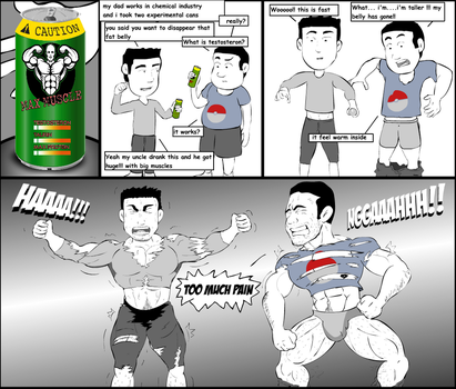Amigos Muscle Growth 1 by Salvador503