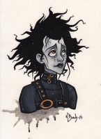 Edward Scissorhands by BlueUndine
