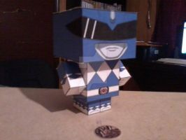 Blue Ranger CubeeCraft by SuperVegeta71290