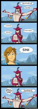SidLink [Comic + Video] by Lethalityrush