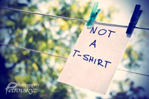 Not A T-Shirt by DonJas