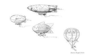 Equestrian airships 01 by Baron-Engel