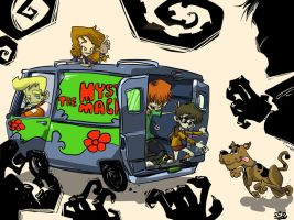 Scooby and the Gang by kraola
