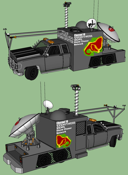 Channel 10 Eyewitness News Storm Chaser by RustyHauser