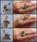Ring to the set Cherry blossoms by JSjewelry
