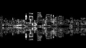 New York Skyline by Jeneral-Pain