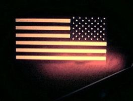 infra red stars and stripes by avedic