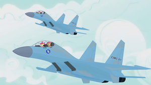 Blank Flankers by totallynotabronyFIM