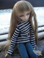 cold day with anabell by EvilYuki