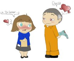 Hannibal and Clarice...2.0 by marshmallowkitty