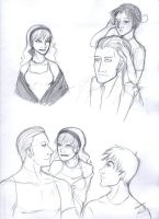 Hetalia - RP Sketches by katwarrior