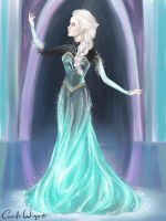 Elsa - Dress Transformation by CamiiW