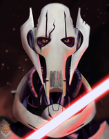 Grievous concept art // star wars // Diego campos by diego1a
