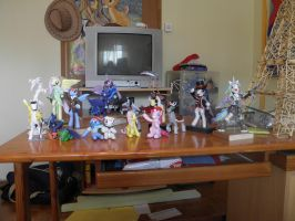 Pony sculpture collection 4 by RetardedDogProductns
