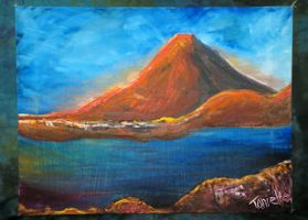 Mystic Mountain by tonieliemariae
