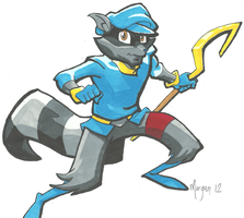 Sly Cooper by Blue--Blur