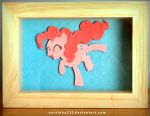 Pinkie Pie Shadowbox FOR SALE by Narxinba222